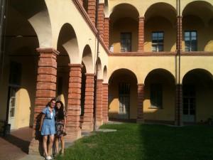 Prontoitalia öğrencileri politecnico kampüsünde