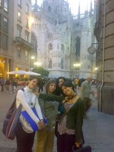 Prontoitalia öğrencileri milano'da